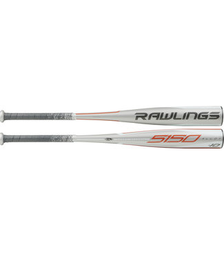 "RAWLINGS UTZ510 5150 Alloy 2 3/4"" USSSA Baseball Bat (-10)"