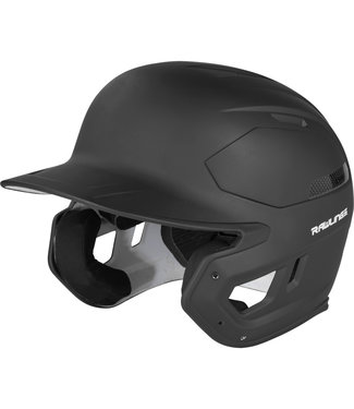 RAWLINGS Mach Carbone/ABS 1-Tone Matte Batting Helmet
