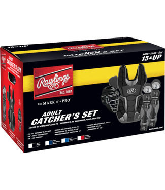 RAWLINGS RCSNA Catcher's Set (NOCSAE)