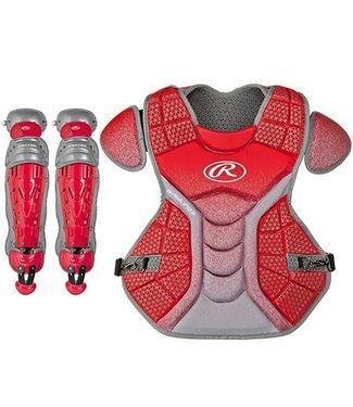 "RAWLINGS VELO CATCHER'S SET (NO MASK CP-17""  LG-16.5"")"