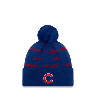 NEW ERA Tuque Junior Knit Repeat A3 des Cubs de Chicago