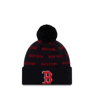 NEW ERA Tuque Junior Knit Repeat A3 des Red Sox de Boston
