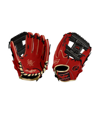 "RAWLINGS Gant de Baseball Heart of the Hide Custom 11.75"" PRO205W-SBG"
