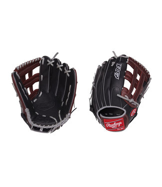 "RAWLINGS R93029-6BSG R9 12 3/4"" Baseball Glove"