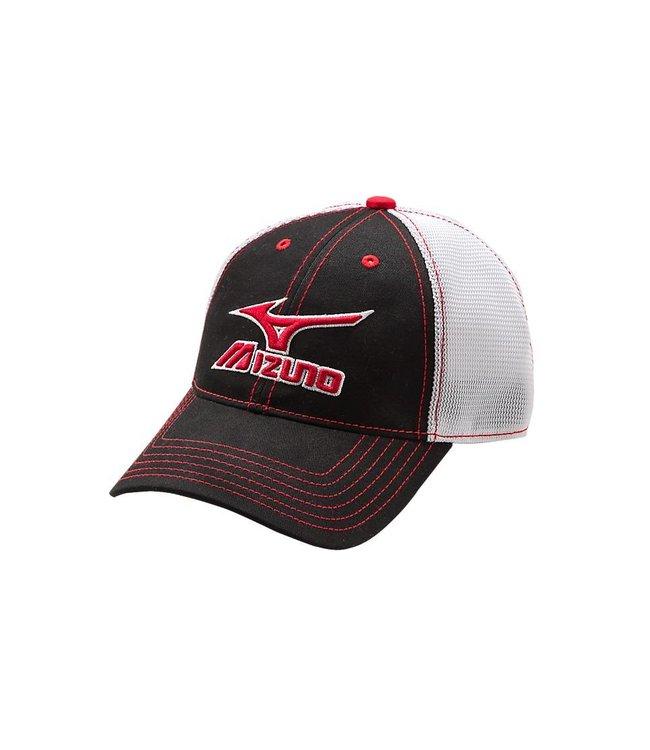 496100c7 MIZUNO Mesh Trucker Hat One Size - Baseball Town