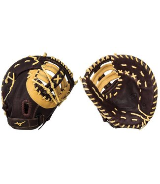 "MIZUNO GXF90B2 Brown 12.5"" Firstbase Baseball Glove"