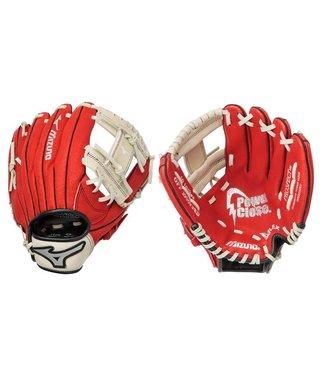 "MIZUNO GPP1000Y2 Prospect Red 10"" Youth Baseball Glove"