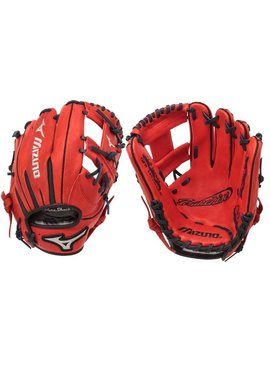 "MIZUNO GFN1151B1RD Franchise Red 11.5"" Baseball Glove"