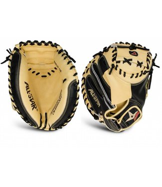 "ALL STAR Pro Elite Black/Tan 33.5"" Catcher's Glove"