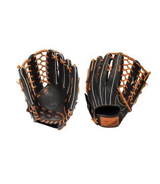 """MIZUNO Gant de Baseball Select 9 12.5"""" Noir-Brun GSN1250"""