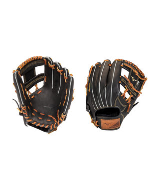 "MIZUNO GSN1125 Select 9 11.25"" Black-Brown Baseball Glove"