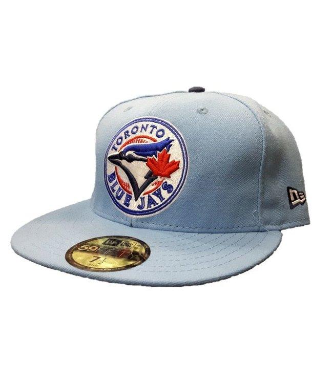 NEW ERA Casquette 59fifty Bleu Ciel des Blue Jays de Toronto