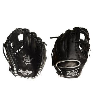 "RAWLINGS PRO314-2BSS Heart of the Hide Blackout 11.5"" Baseball Glove"