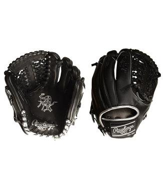 "RAWLINGS PRO205-4BSS Heart of the Hide Blackout 11.75"" Baseball Glove"