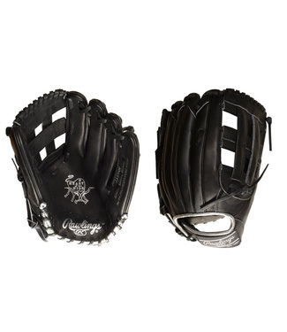 "RAWLINGS Gant de Baseball Heart of the Hide Blackout 12.75"" PRO3039-6BSS"