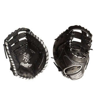 "RAWLINGS PRODCTBSS Heart of the Hide Blackout 13"" Firstbase Baseball Glove"