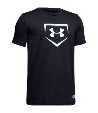 UNDER ARMOUR Baseball Plate Youth T-Shirt