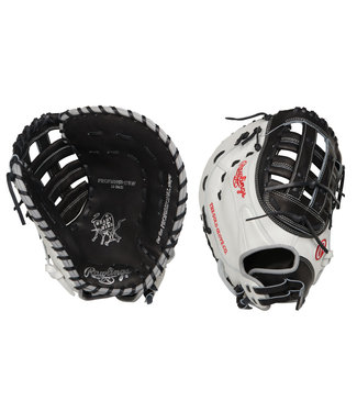 "RAWLINGS PROFM19SB-17BW Heart of the Hide 12.5"" Firstbase Softball Glove"
