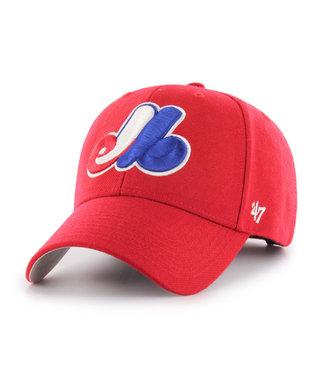 47BRAND MLB MVP Montreal Expos Alternate Cap
