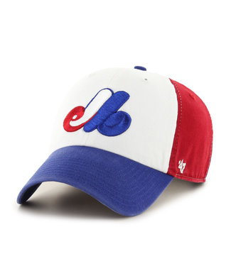 47BRAND Casquette MLB Clean-Up Expos de Montreal