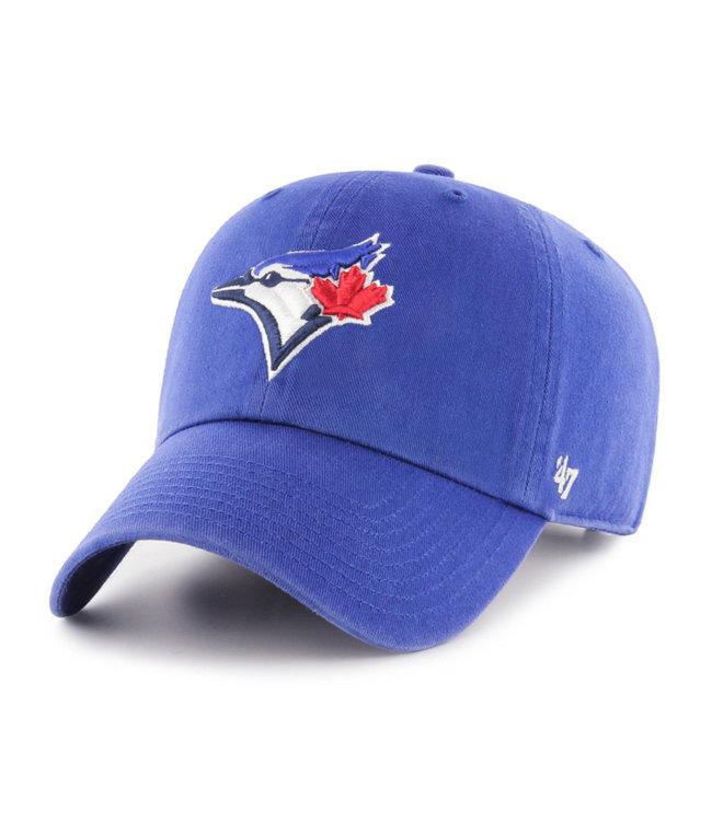 47BRAND Casquette MLB Clean-Up des Blue Jays de Toronto
