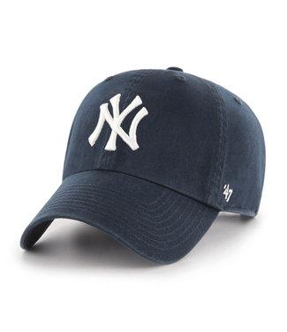 47BRAND Casquette MLB Clean-Up des Yankees de New York