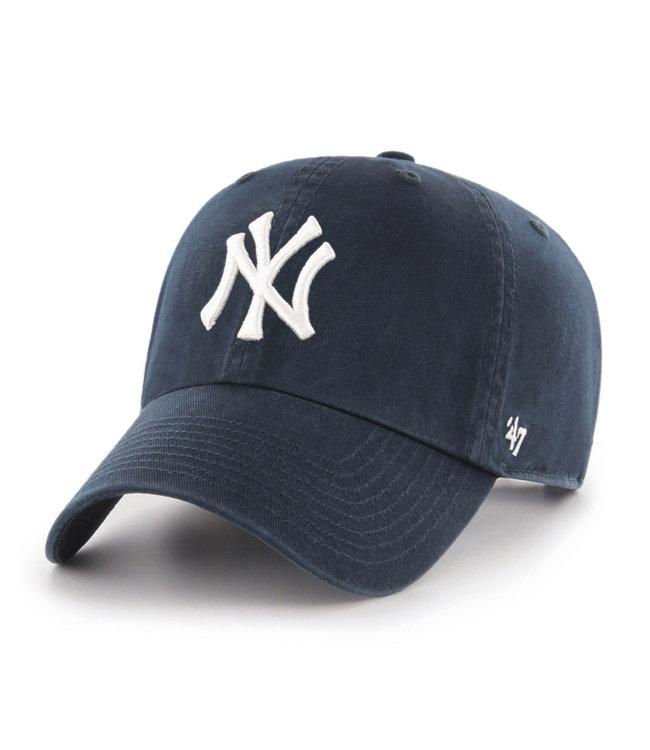 47BRAND MLB Clean-Up New York Yankees Cap