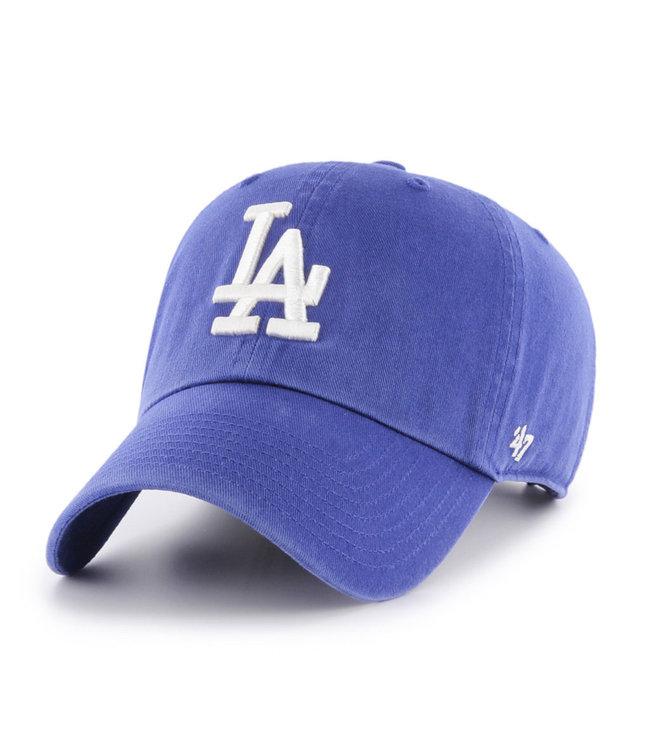 47BRAND Casquette MLB Clean-Up des Dodgers de Los Angeles