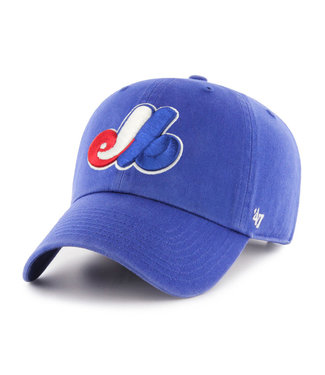 47BRAND MLB Clean-Up Montreal Expos Cap
