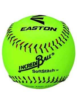 "EASTON 12"" Softstitch Neon Training Ball"