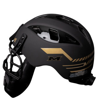 MIKEN Pitcher's Helmet Gold Edition