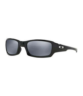 OAKLEY Fives Squared Polished Black w/ Black Iridium Polarized