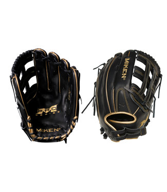 "MIKEN Pro135 Pro Series Gold Edition 13.5"" Softball Glove"