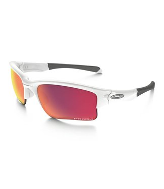 OAKLEY Quarter Jacket Polished White w/ Prizm Baseball Outfield  (Youth Fit)