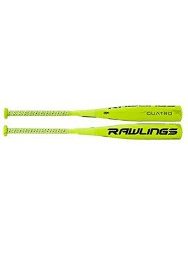 RAWLINGS SL7Q10 Quatro SL Baseball Bat (-10)