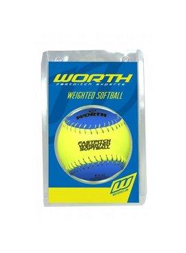 "WORTH Weighted Training Softball 12"""