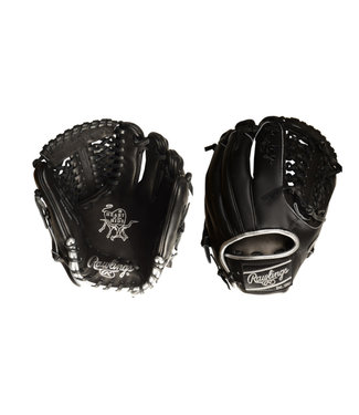 "RAWLINGS PRO205-4BSS Heart of the Hide Blackout 11.75"" Baseball Glove"