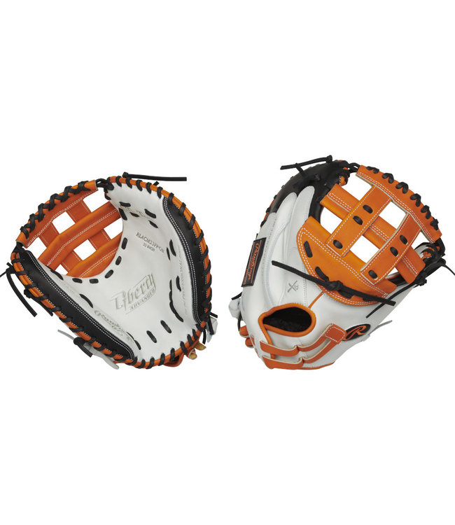 """RAWLINGS RLACM33FPOB Color Sync 2.0 Liberty Advanced 33"""" Fastpitch Catcher's Glove"""