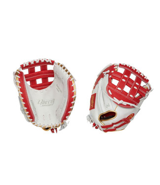 "RAWLINGS RLACM33FPS Color Sync 2.0 Liberty Advanced 33"" Fastpitch Catcher's Glove"