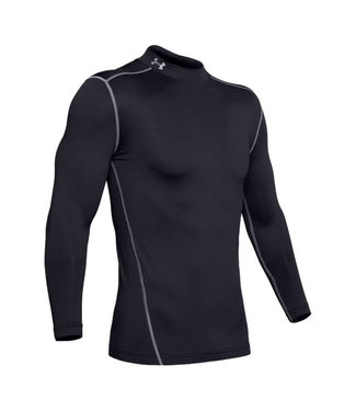 UNDER ARMOUR Women's Coldgear fitted long sleeve Mock