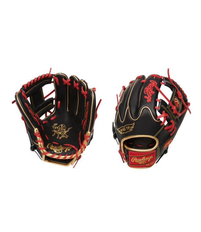 "RAWLINGS PRO205W-2BG Heart of the Hide 11.75"" Baseball Glove"