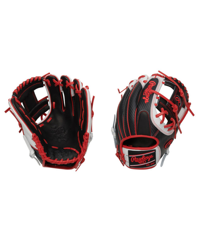 "RAWLINGS PRO204-2BSCF Heart of the Hide Hyper Shell 11.5"" Baseball Glove"