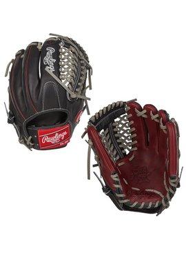 "RAWLINGS January 2017 PRO205-4SHB Heart of the Hide Gold Glove Club 11.75"" Baseball Glove"