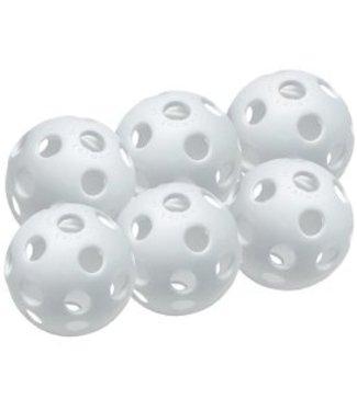 "EASTON 9"" White Plastic Training Balls (6PK)"