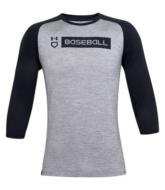 UNDER ARMOUR Youth's Utility 3/4 Shirt 20