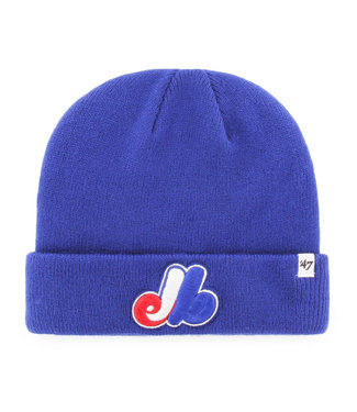 47BRAND MLB Raised Cuff Knit Montreal Expos