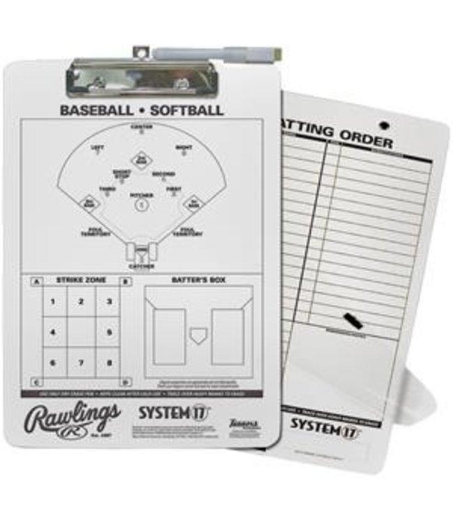 RAWLINGS Baseball Coach's Clipboard