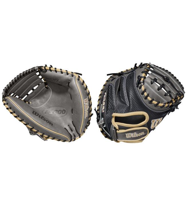 "WILSON A2000 Pedroia Fit PF33 33"" Baseball Catcher's Glove"