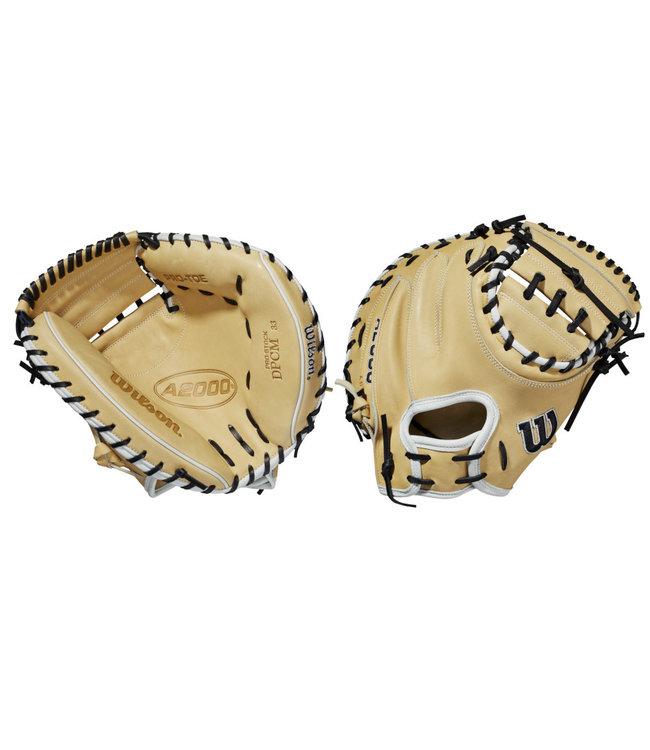 """WILSON A2000 CM33 33"""" Baseball Catcher's Glove"""