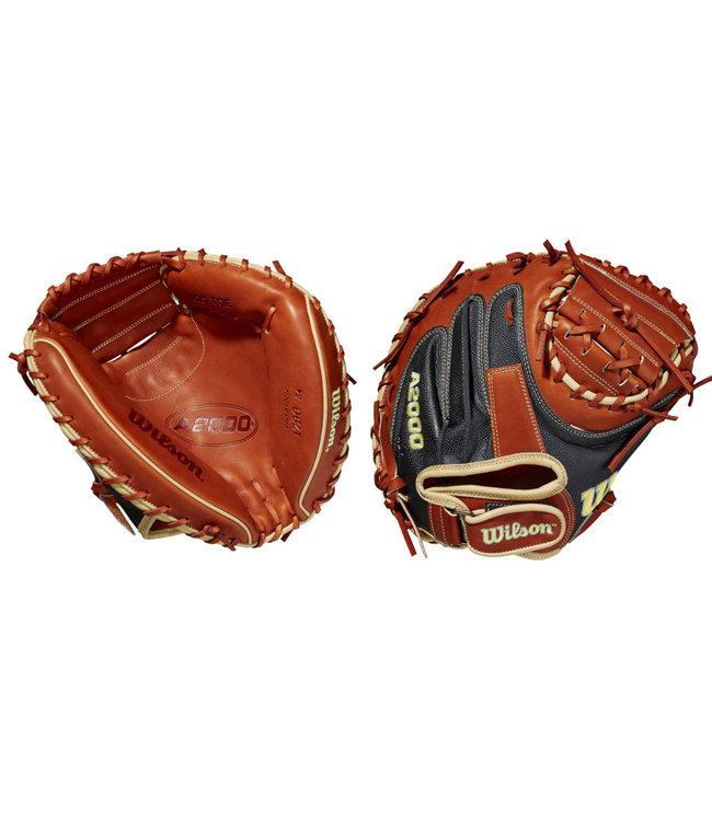 """WILSON A2000 Superskin 1790 34"""" Baseball Catcher's Glove"""